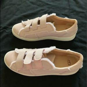 UGG Pink Suede Tennis Shoes size 9
